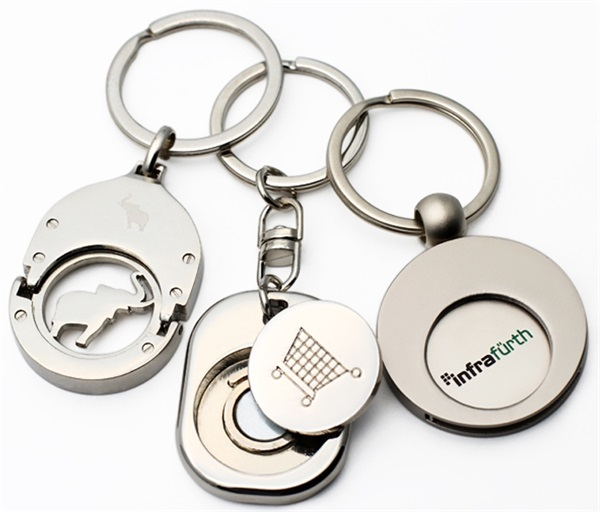 Tollery Coin Keyring