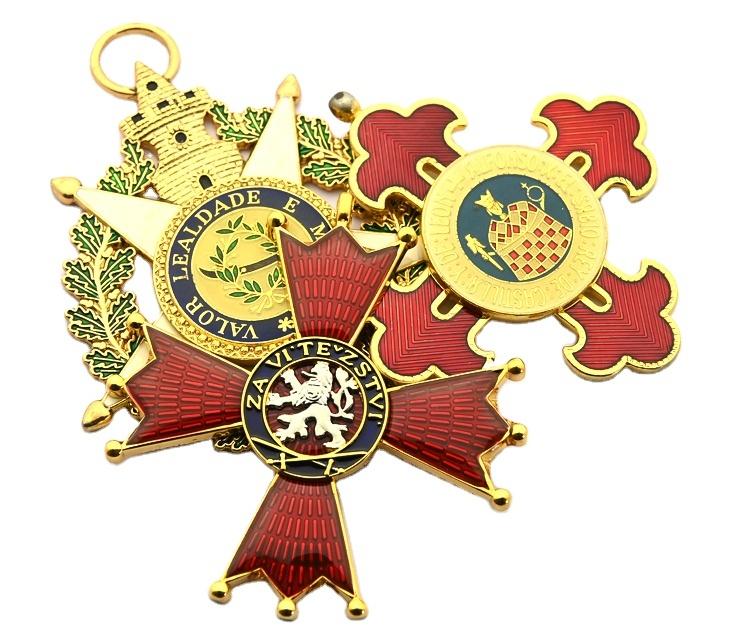 Custom Metal Security Badges